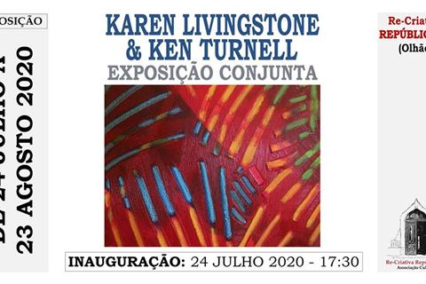 Painting Exhibition by Karen Linvingstone and Ken Turnell