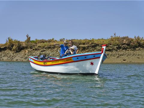 Boat trips through the Ria Formosa